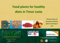 Food Plants for Healthy Diets in Timor Leste – (English)