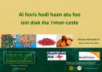 Ai horis hodi haan atu foo isin diak iha Timor Leste – (Tetun)