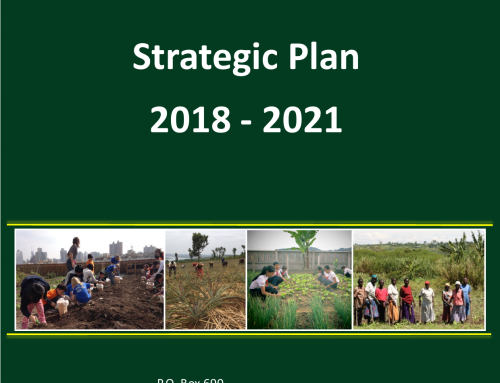 Strategic Plan 2018 – 2021