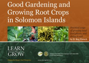 Good Gardening and Root Crops