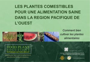 Food Plants for Healthy Diets in the Western Pacific - French